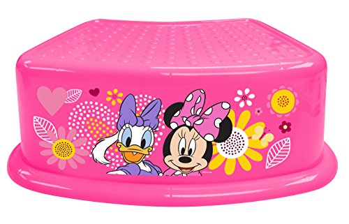 "Disney Minnie Mouse""Bowtique"" Junior Step Stool, Pink"