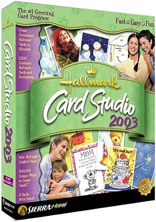 Hallmark Card Studio 2003