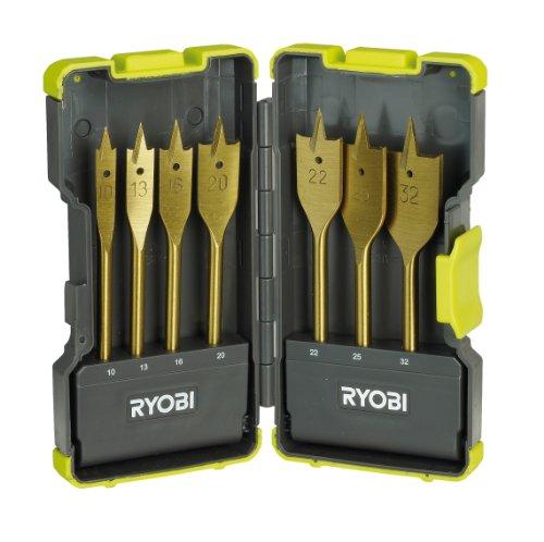 Kit 7 forets plats bois Ryobi rak07sb