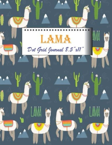 Lama Dot Grid Journal 8.5