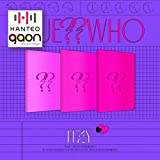ITZY - Guess Who [Day&Night ver.] [Pre Order] CD+Photobook+Folded Poster+Others with Tracking, Extra Decorative Stickers, Photocards