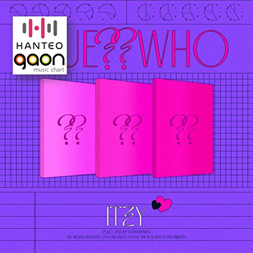 ITZY - Guess Who [Day ver.] [Pre Order] CD+Photobook+Folded Poster+Others with Tracking, Extra Decorative Stickers, Photocards