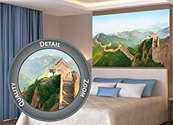 Poster – The Great Chinese Wall – Picture Decoration China s Culture Historical Symbol Landmark Heritage Landscape Nature Image Photo Decor Wall Mural  55x39.4in - 140x100cm