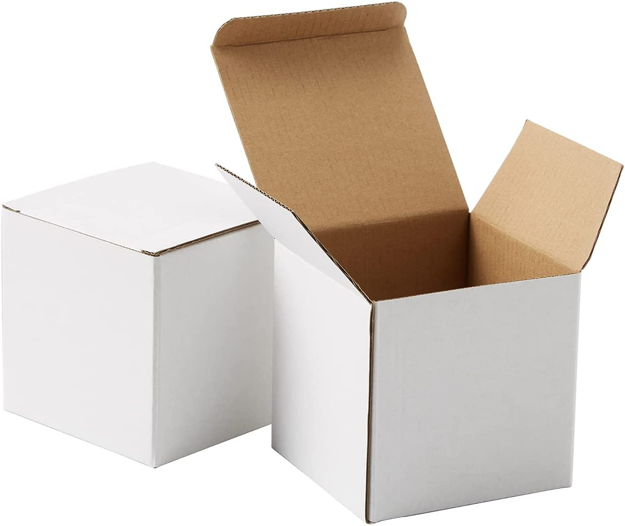 White Corrugated Boxes Packaging Moving Boxs Small 4