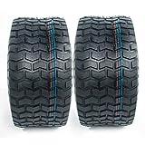 Set of 2 18x8.50-8 Lawn Mower Turf Tires 18x8.50x8 Golf Cart Tires 4PR P512 Tubeless