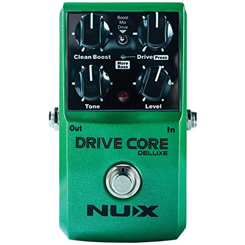 NUX | Drive Core Deluxe Boost & Drive Pedal,DRIVECDLX