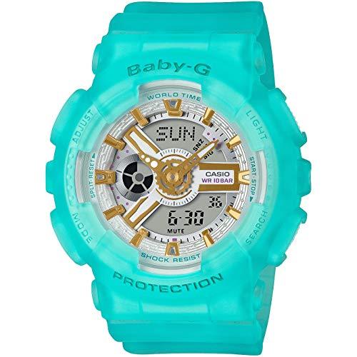 Casio Baby-G By Women's BA110SC-2A BA110 Series Analog-Digital Watch Green