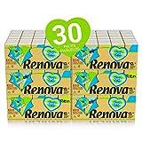 Renova Pañuelos de Bolsillo Renova Recycled | 300 paquetes (300 x 9 pañuelos) | 100% Reciclado con Ecolabel y FSC