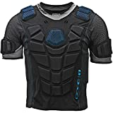 TOUR Adult Code 1 Inline Hockey Upper Body Protector Black Size: Small Black