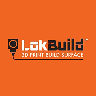 """LokBuild 3D Print Build Surface, sticky back sheet, quick, clean removal of printed parts, versatile (SINGLE PACK 6"""" (153x153mm))"""