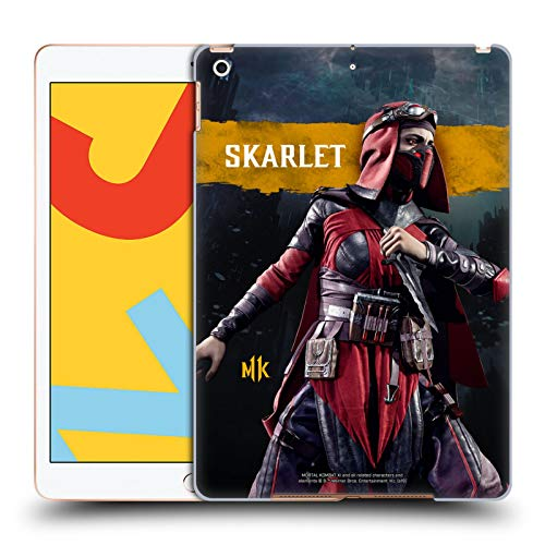 Official Mortal Kombat 11 Skarlet Characters Hard Back Case Compatible for iPad 10.2 (2019)