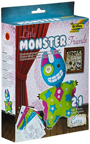 folia 50102 - Bastelset Little Monster Friends