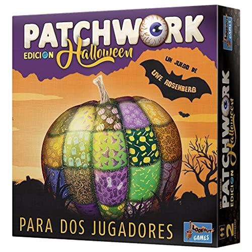 Lookout Spiele Patchwork Halloween - Juego de Mesa en Español, LKGPAH01ES