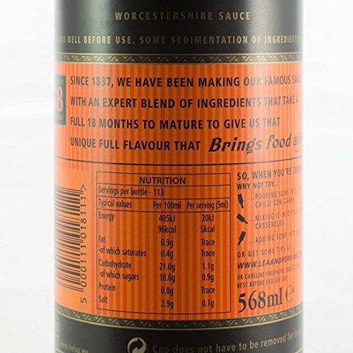 Lea & Perrins Worcestershire Sauce - 1 x 568ml - 2