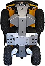 CAN-AM Outlander MAX 8 Piece Skid Plate Set by Ricochet Fits 2013 -2016 500/570/650/800/850/1000 & Outlander 1000 X-MR 2013 - 2016
