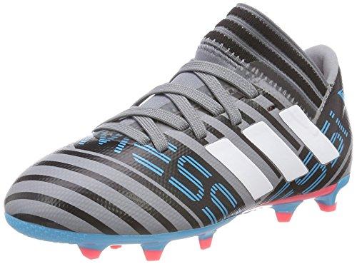 adidas Unisex-Kinder Nemeziz Messi 17.3 FG Fußballschuhe, Grau (Grey/Footwear White/Core Black), 38 2/3 EU