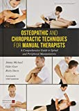 Osteopathic and Chiropractic Techniques for Manual Therapists: A Comprehensive Guide to Spinal and Peripheral Manipulations - Giles Gyer