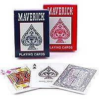 Maverick Standard Index Playing Cards (Colors May Vary)