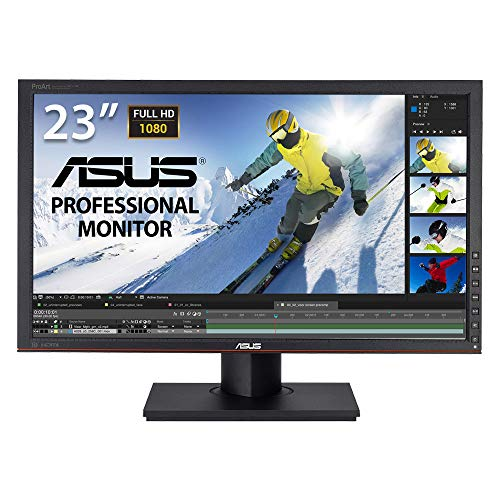 "Asus PA238Q Ecran PC LCD 23"" (58,5 cm) LED Display port/DVI-D/HDMI 1.3 Noir"