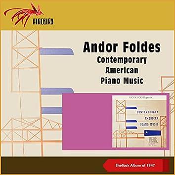 Contemporary American Piano Music (Shellack Album of 1947)