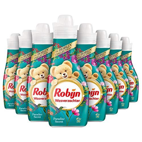 Robijn Paradise Secret Wasverzachter 8 x 30 wasbeurten - 8 x 750 ml Voordeelverpakking
