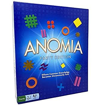 Anomia Party Edition Fun Family Card Game for Teens and Adults Popular for Families and Couples.