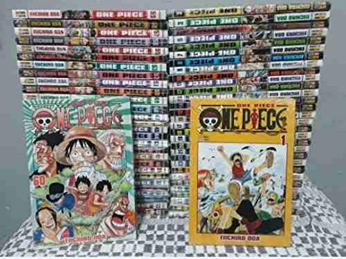 Mangá Box Coleção One Piece Volumes 1 ao 60 Panini