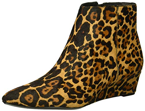 Calvin Klein Women's GAEL Ankle Boot, Leopard, 6 UK