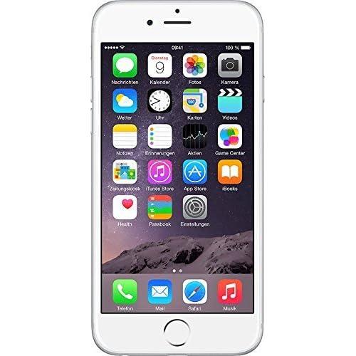 "Apple iPhone 6 Plus - Smartphone Libre iOS, Pantalla 5.5"", 16 GB (Dual-Core 1.4 GHz, 1 GB de RAM, cámara de 8 MP), (Reacondicionado por Apple), Plateado (Silver)"