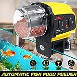 MZY1188 Distributeur Automatique de Nourriture pour Poissons, mangeoires automatiques pour Aquarium/Aquarium/Week-End/étang Tools Outils de mangeoire à Poisson électriques automatiques