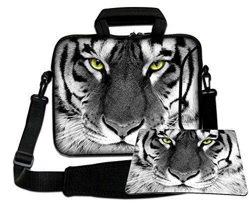 Luxburg schoudertas laptoptas tas tas met draagriem van neopreen Plus Free Mouspad