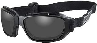 Men's Bend Gray Lens Goggles, Collapsible Black Frames HABEN01