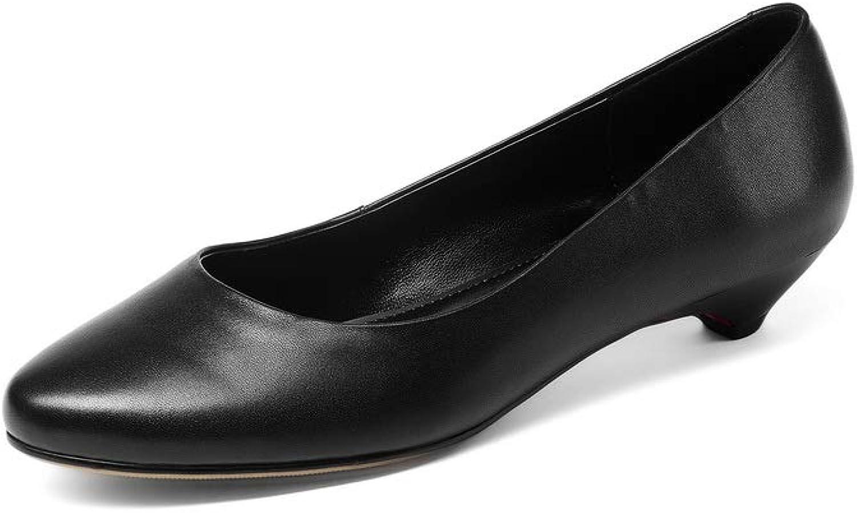 AdeeSu Womens Casual Solid Dress Urethane Pumps shoes SDC06035