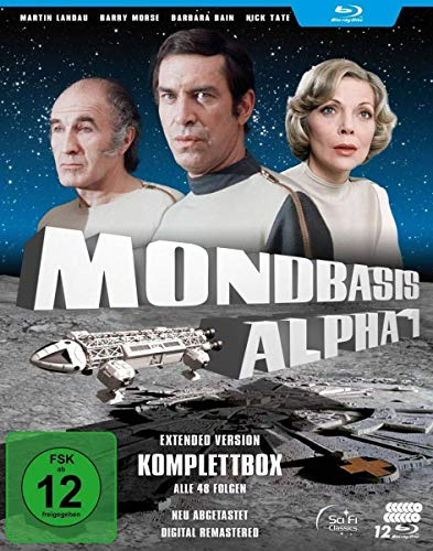Mondbasis Alpha 1 - Extended Version HD-Komplettbox (Staffeln 1 + 2) [Blu-ray]