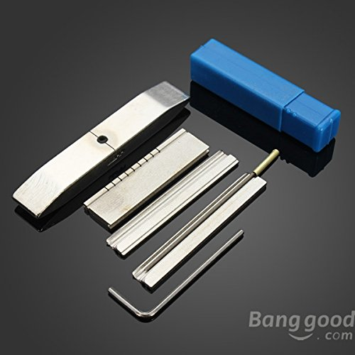 mark8shop Dose Folie Werkzeug für Schlosser Werkzeuge Lock Pick Tools Set