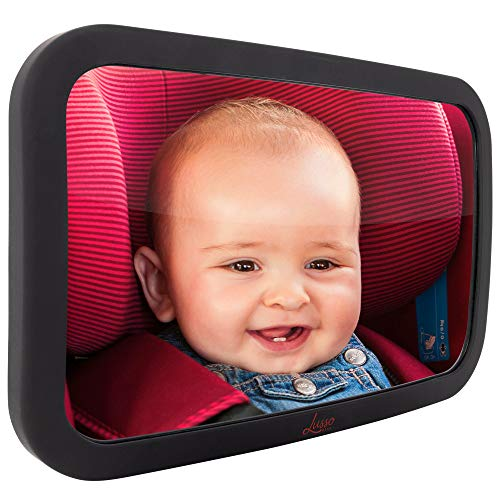 Baby Mirror for Car - Largest and Most Stable Backseat Mirror with...
