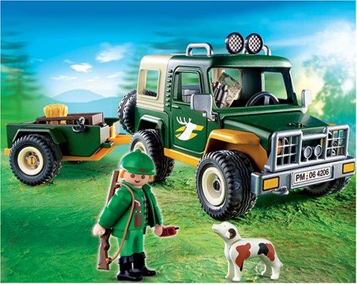 PLAYMOBIL® 4206 - Forst-Geländewagen mit Anhänger