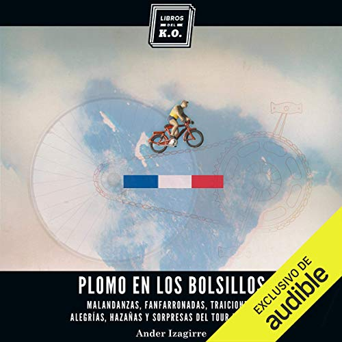 Diseño de la portada del título Plomo en los bolsillos (Narración en Castellano)