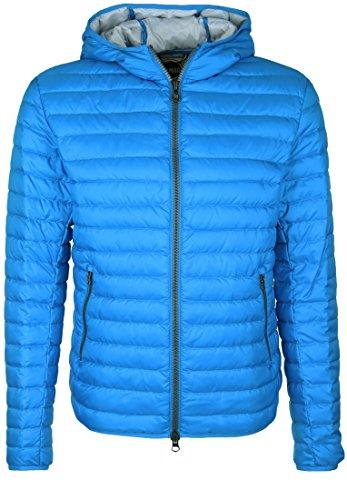 Colmar Shazam Blue Down Gevulde jas met capuchon