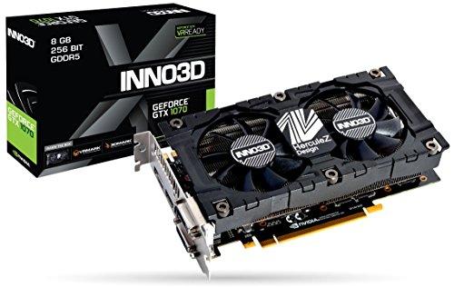 Inno3D GTX1070 Twin X2 V4 8GB PCI Express Graphic Card