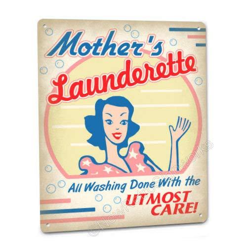 Unbekannt Mother 's Waschsalon Retro Schild/Wandschild