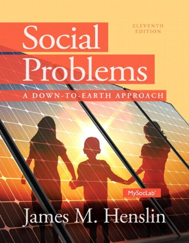 NEW MyLab Sociology  with Pearson eText -- Standalone Access Card -- for Social Problems: A Down to Earth Approach (11th