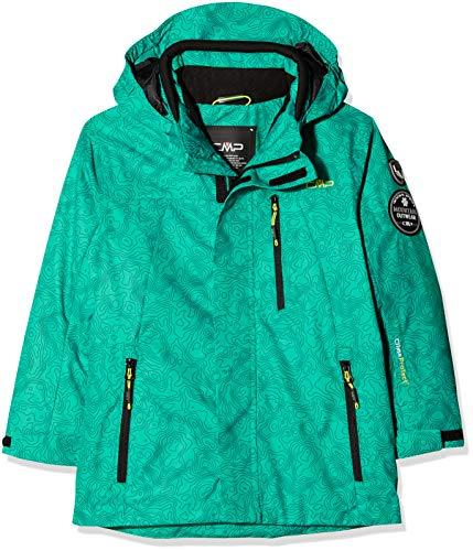 CMP Jungen Skijacke Jacke, Emerald-Antracite, 140