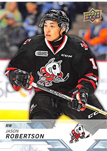 2018-19 Upper Deck CHL Hockey #35 Jason Robertson Niagara IceDogs Official Canadian Hockey League Trading Card from UD
