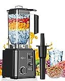 Makoloce Frullatore Professionale 2200w,2.2L Frullatore Smoothie,10 Velocità e Funzione a...