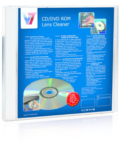V7 VCL1352 - CD DVD LENS CLEANER -