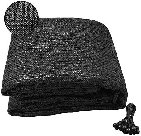 F O T 70 Sunblock Shade Cloth Anti Aging 6 5ftx10ft Sun Mesh UV Resistant Net Garden Shade Mesh product image