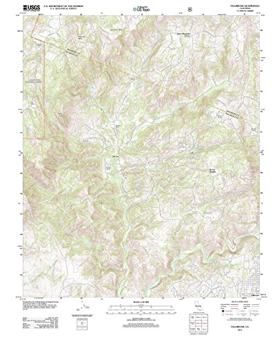 California Maps - 2012 Fallbrook, CA - USGS Historical Topographic Wall Art : 24in x 30in