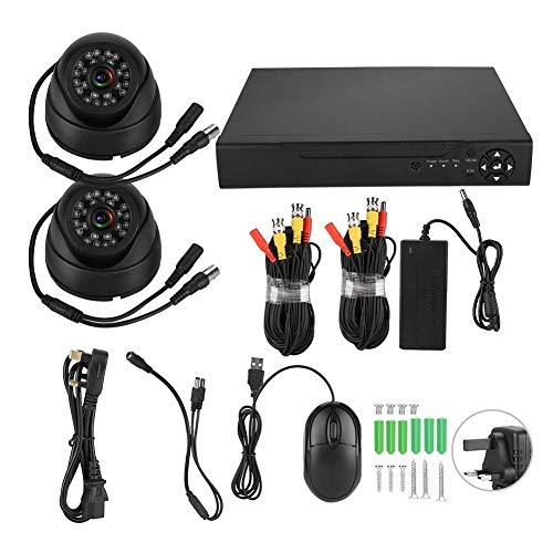 Kit de cámara de seguridad DVR, sistema de cámara de seguridad IR-CUT, hoteles para supermercados(100-240V British standard)