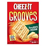 Cheez-it, Grooves, Crispy Cracker Chips (Pack of 2)